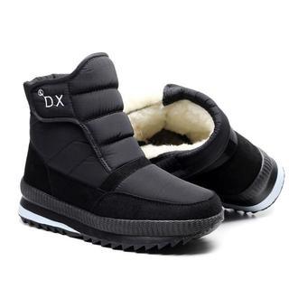 冬のブーツ、スノーブーツ、男性用と女性用、ブーツ、暖かく(スニーカー)