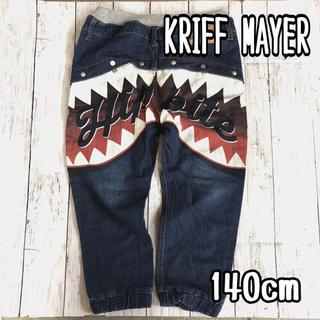 クリフメイヤー(KRIFF MAYER)の【USED】140cm KRIFF MAYER 7分丈ジャガーパンツ(パンツ/スパッツ)