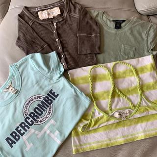 アバクロンビーアンドフィッチ(Abercrombie&Fitch)のアバクロSサイズセット販売(Tシャツ(半袖/袖なし))