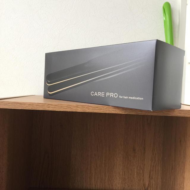 ケアプロ 超音波アイロン 美容室 美容師 スマホ/家電/カメラの美容/健康(ヘアアイロン)の商品写真