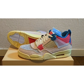 NIKE - (27.5cm)UNION×AIR JORDAN 4(国内正規品)