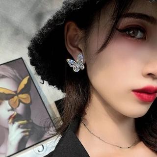 ジルバイジルスチュアート(JILL by JILLSTUART)の韓国 ピアス イヤリング 蝶 セーラームーン(ピアス)