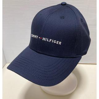 トミーヒルフィガー(TOMMY HILFIGER)の新品未使用!トミーヒルフィガー キャップネイビー(キャップ)