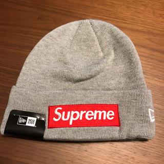 Supreme - シュプリーム ニューエラ ビーニー ボックスロゴ ニット帽 新品未使用