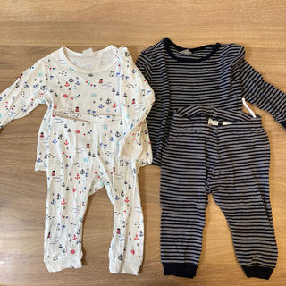 H&M - h&m baby パジャマ2枚セット