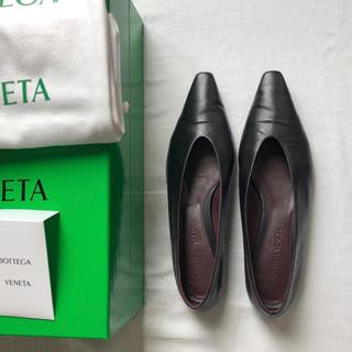 Bottega Veneta - ボッテガヴェネタ bottega veneta 37 アーモンドフラットシューズ