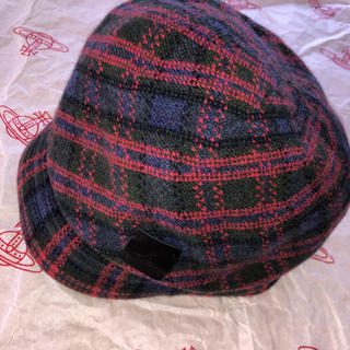 ヴィヴィアンウエストウッド(Vivienne Westwood)のVivienne Westwoodヴィヴィアンウエストウッドキャスケット 帽子(キャスケット)