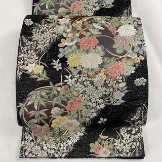 袋帯 美品 秀品 六通 正絹 【中古】