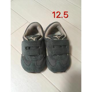 ミズノ(MIZUNO)のmizuno ミズノ スニーカー ベビー ファーストシューズ靴 12.5 男の子(スニーカー)