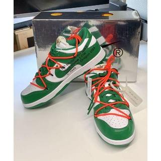 Off-White Dunk Low GREEN(スニーカー)