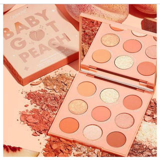 colourpop - Colourpop BABYGOTPEACH アイシャドウパレット