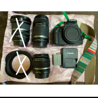Canon - Canon EOS kiss x3 【レンズ2本付き!】