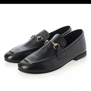 イエナ(IENA)のビット ローファー 本革 ブラック(ローファー/革靴)