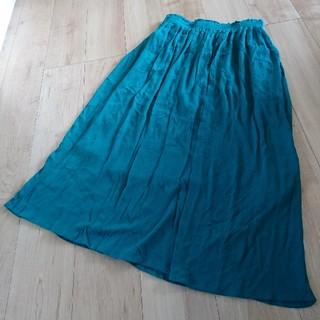 しまむら - L しまむら ターコイズブルー スカート