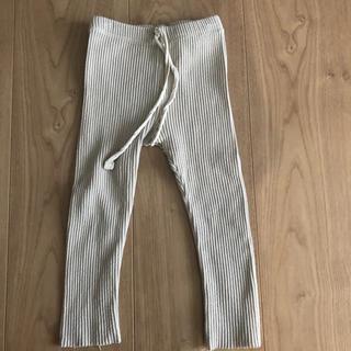 コドモビームス(こども ビームス)の韓国子供服 リブレギンス ベージュ(パンツ)