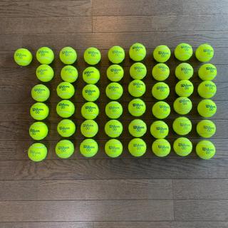 ウィルソン(wilson)のウィルソン 硬式テニスボールダブルオー 49個(ボール)