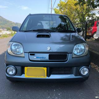 スズキ - 車検R3年6月 Keiワークス 5MT   ナビ ETC   キーレス