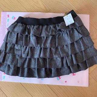 セシルマクビー(CECIL McBEE)の新品 セシルリンクフリルリボンスカート(ミニスカート)