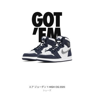 NIKE - 新品NIKE AIR JORDAN 1 HIGH OG CO.JP 26.5cm