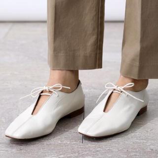 フリークスストア(FREAK'S STORE)の🐑🌿【BRENTA】スリットフラットシューズ(ローファー/革靴)