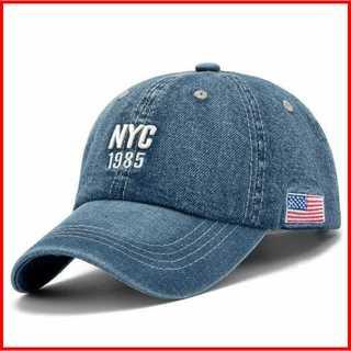 NYCキャップ ダークブルー アメカジ ニューヨーク ヤンキース