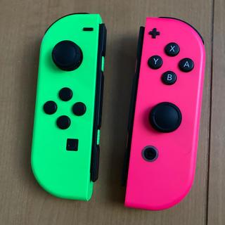 Nintendo Switch - ニンテンドースイッチJoy-Con LR 動作確認済 難あり