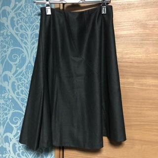 シビラ(Sybilla)のシビラ 黒スカート(ひざ丈スカート)