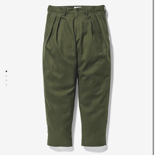 W)taps - WTAPS TUCK / TROUSERS / COTTON. FLANNEL