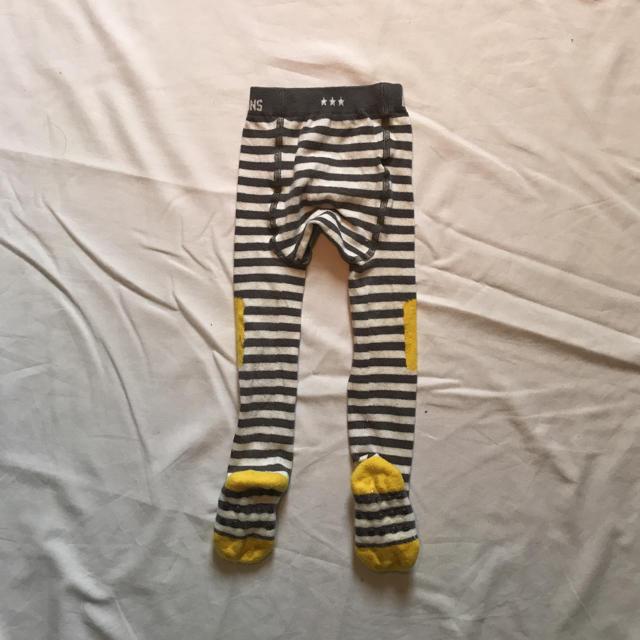 こどもビームス(コドモビームス)のLITTLE TITANS タイツ ベビー ボーダー こどもビームス キッズ/ベビー/マタニティのこども用ファッション小物(靴下/タイツ)の商品写真