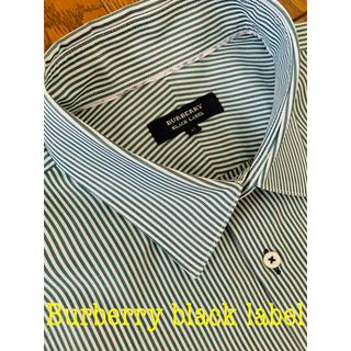 バーバリーブラックレーベル(BURBERRY BLACK LABEL)のバーバリー  ブラックレーベル 長袖ワイシャツ(シャツ)