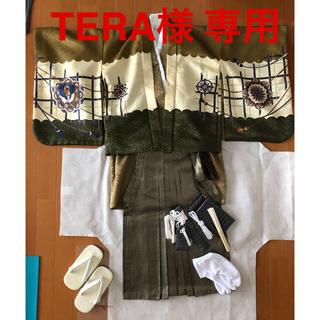 七五三 袴 フルセット 5歳(和服/着物)