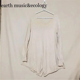 earth music & ecology - ☆earth music&ecology☆膝丈ワンピ☆