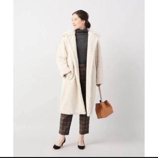 ジャーナルスタンダード(JOURNAL STANDARD)のrelume  アパリス Faux coat ファーコート ホワイト ロング(毛皮/ファーコート)