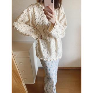 Lochie - vintage ivory knit