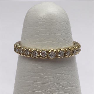 K10YG ダイヤモンド ピンキー リング(リング(指輪))