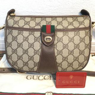 Gucci - 極美品♡オールド GUCCIグッチ ショルダーバッグ  シェリーライン
