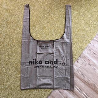 ニコアンド(niko and...)のニコアンド  エコバッグ タグ付き未使用品(エコバッグ)