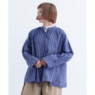 merlot - 気まぐれでお値下 美品 秋 merlot メルロー  シャツ バンドカラー