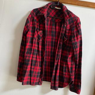 グレイル(GRL)のGRL♡ 赤チェックシャツ(シャツ/ブラウス(長袖/七分))