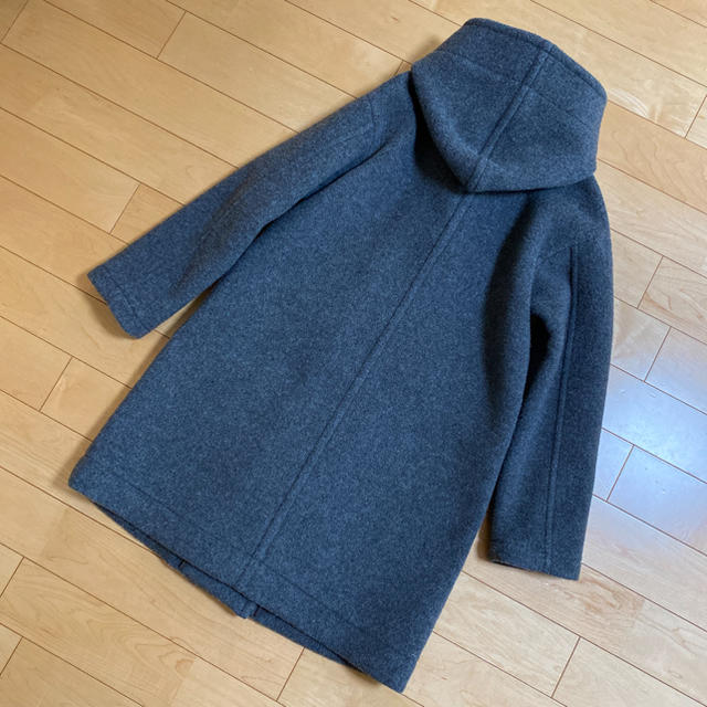 LUCA(ルカ)のLUCA購入 ニコルソンアンドニコルソン ロングコート グレー レディースのジャケット/アウター(ロングコート)の商品写真