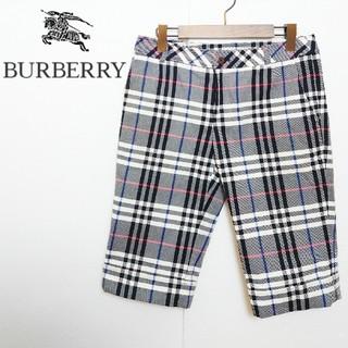 バーバリー(BURBERRY)のBURBERRY バーバリー ノバチェック ハーフパンツ(ショートパンツ)