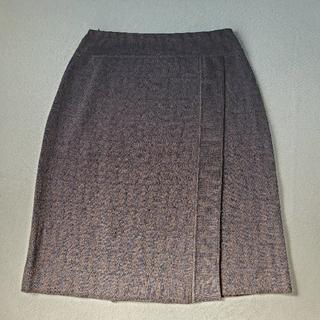 フェンディ(FENDI)の【FENDI】ズッカ柄ニットスカート(ひざ丈スカート)