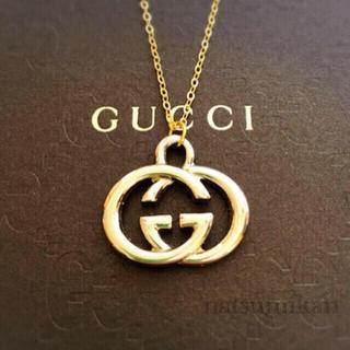 Gucci - GUCCI 正規品 インターロッキングG ネックレス (ゴールド)