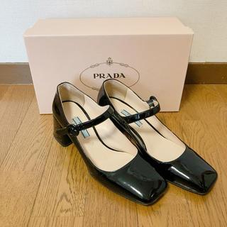 PRADA - プラダ パンプス 黒色 エナメル