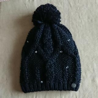 Roxy - ROXY ニット帽子 黒