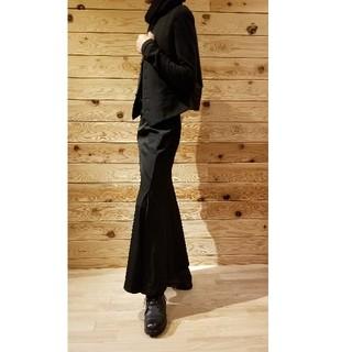 Yohji Yamamoto - 美品 Yohjiyamamoto + NOIR ウールギャバ ロングスカート