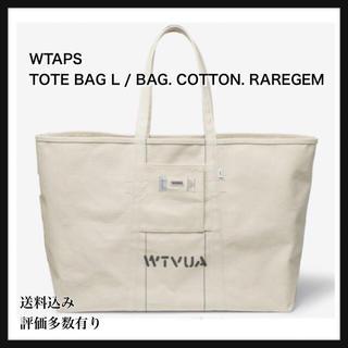 ダブルタップス(W)taps)のWTAPS TOTE BAG L / BAG. COTTON. RAREGEM(トートバッグ)