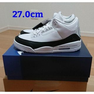 NIKE AIR JORDAN3 RETRO x Fragment 27.0cm(スニーカー)