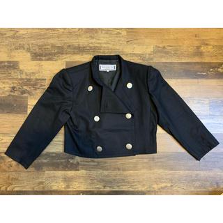 サンローラン(Saint Laurent)のイヴ・サンローラン ウールジャケット イヴサンローラン サンローラン 黒 M(ブルゾン)