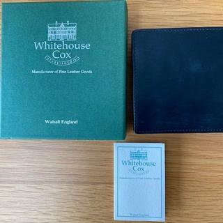 ホワイトハウスコックス(WHITEHOUSE COX)の値下済【97】ホワイトハウスコックス 二つ折り財布(折り財布)